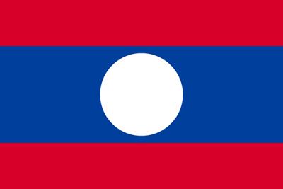 Image result for ラオス国旗