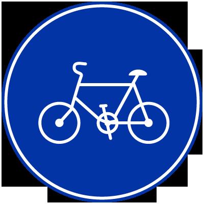 自転車の 自転車 素材 イラスト : ... イラスト素材画像集【道路標識